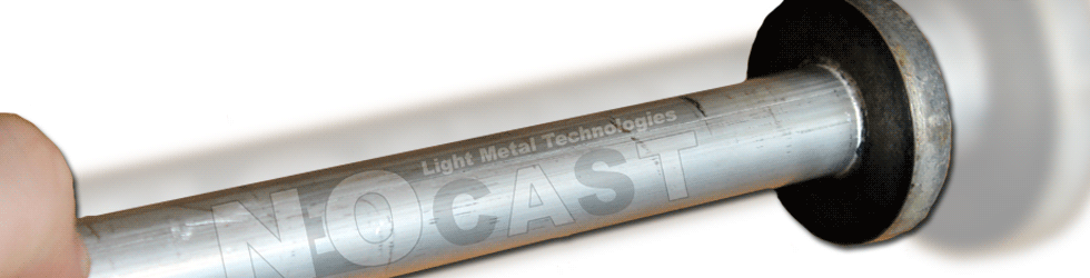 Magnesium tube with flange made in one step process
